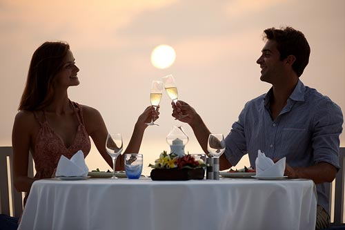 Private Sunset Dinner for Two on the Beach